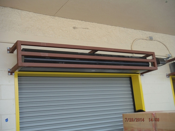 Overhead Door Guard